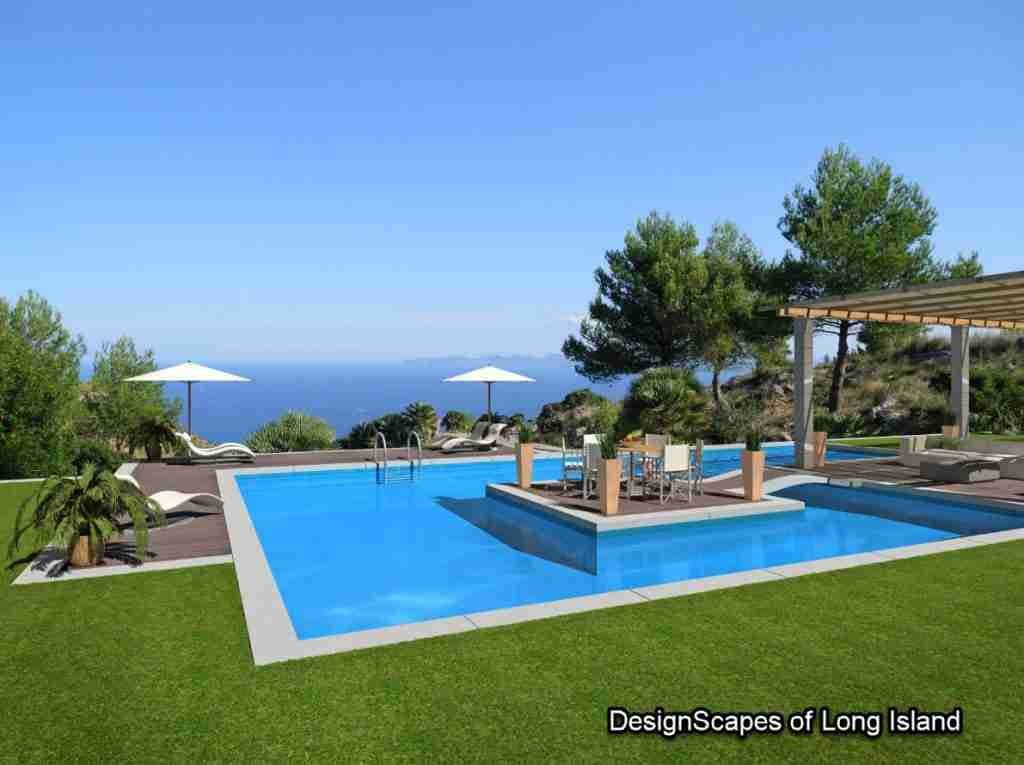 swimming pool designs long Island NY